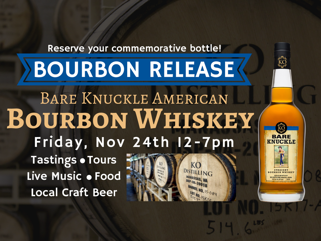 Bare Knuckle Bourbon Release