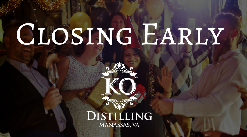 Distillery Store Closing at 6PM