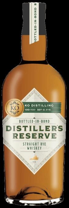 Distiller's Reserve Bottled-in-Bond Rye Whiskey