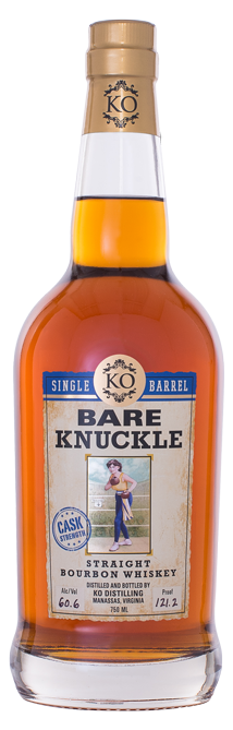 Bare Knuckle Straight Bourbon Whiskey Single Barrel Cask Strength