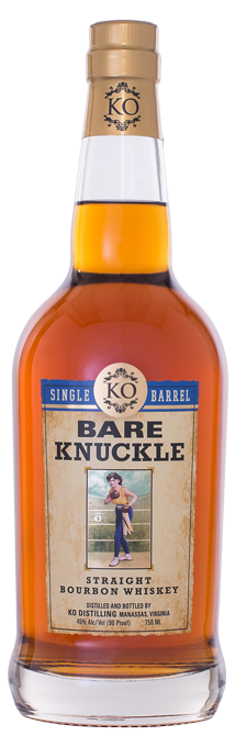 Bare Knuckle Straight Bourbon Whiskey Single Barrel