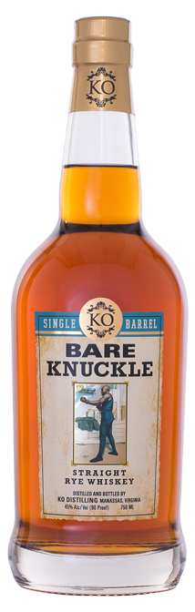 Bare Knuckle Straight Rye Whiskey Single Barrel