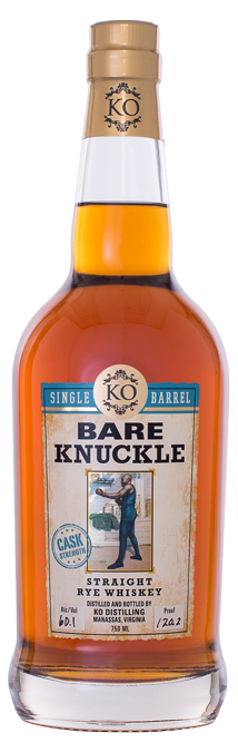 Bare Knuckle Straight Rye Whiskey Single Barrel Cask Strength