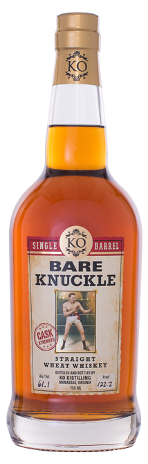 Bare Knuckle Straight Wheat Whiskey Single Barrel Cask Strength