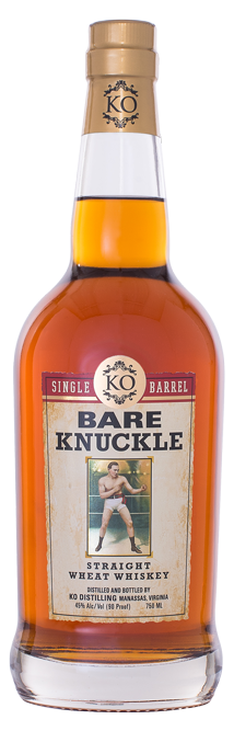 Bare Knuckle Straight Wheat Whiskey Single Barrel