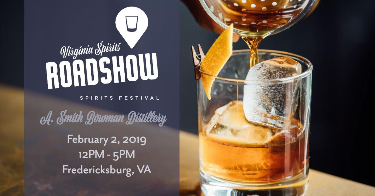 Virginia Craft Spirits Roadshow: A. Smith Bowman Distillery