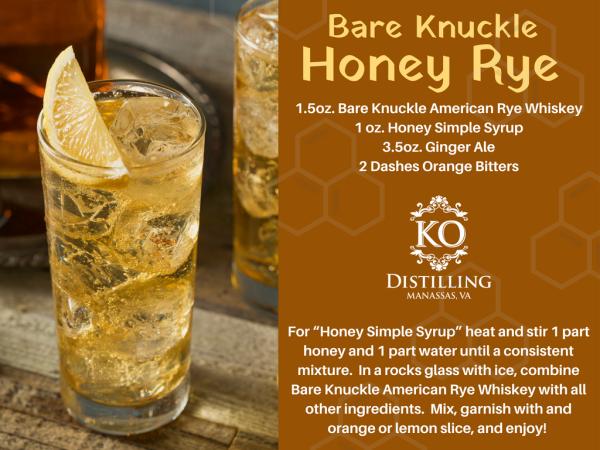 Honey Rye Cocktail