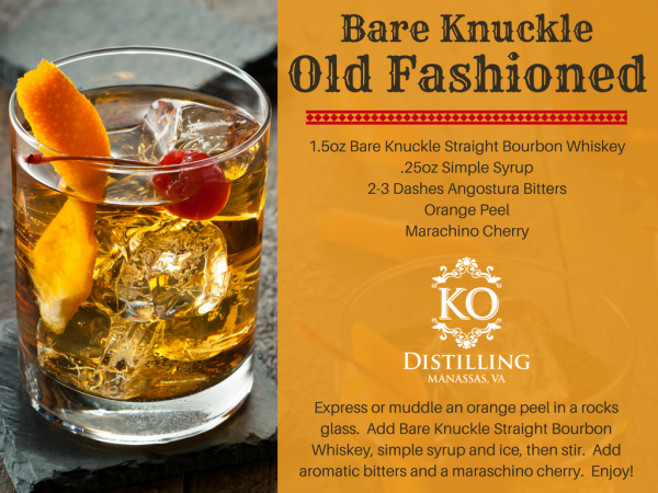 Bare Knuckle Old Fashioned