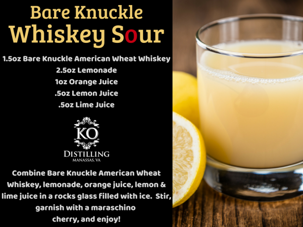 Bare Knuckle Whiskey Sour
