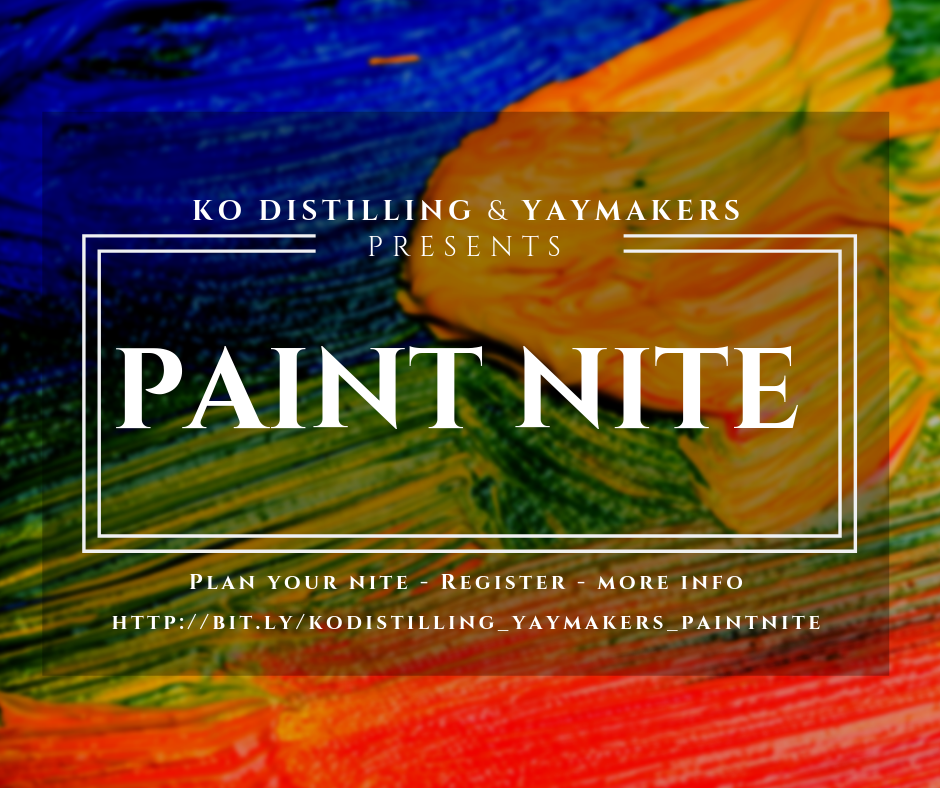 YAYMAKERS - PAINT NITE - CANCELED