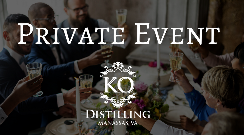 Distillery Store Closed: Private Event