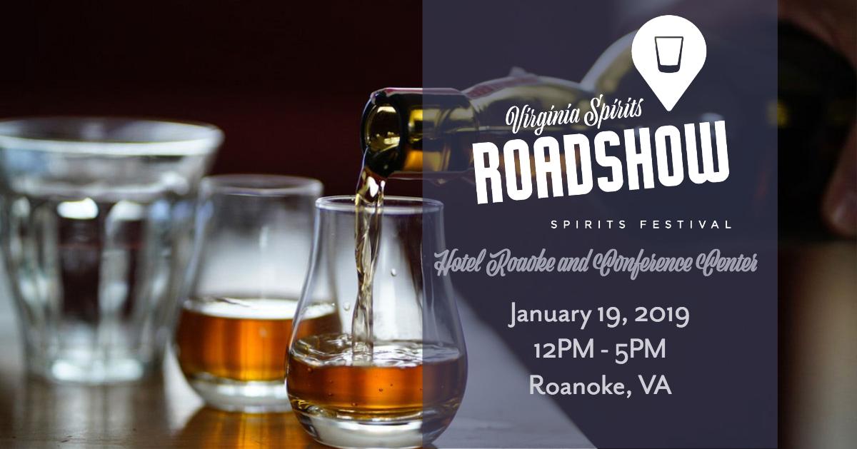 Virginia Craft Spirits Roadshow: Roanoke
